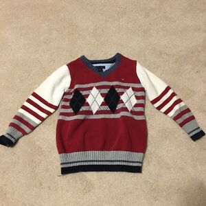 Tommy Hilfiger Boys Sweater-size 4