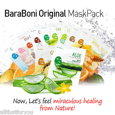 SNP BaraBoni Original Mask Pack with Nature Purity 97% 1EA with Nature as It is