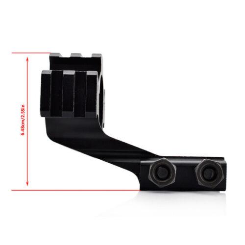 25.4mm//30mm Rifle Scope Ring Tri-rail 20mm Rail Mount For Flashlight Laser Sight