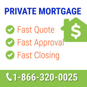 Private Mortgage From Private Lender - First & Second Mortgage
