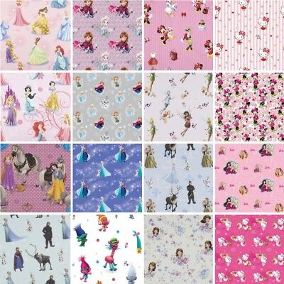 100% Premium Cotton Fabric DISNEY®  Frozen, Princess, Sofia, Minnie Mouse, Bella - Disney Princess Bella