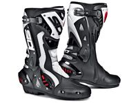 Rst leathers sidi boots and gloves