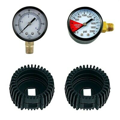 Regulator Gauge Replacement Kit With Free Gauge Guards Kegging Draft Beer