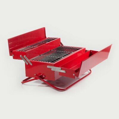 BBQ Toolbox Camping & Outdoors Portable Barbecue Grill Man Cave Fathers Day Gift