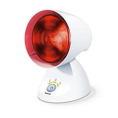 Beurer IL 35 Infrarotlampe weiß Wärmestrahler Rotlichtlampe 150 Watt