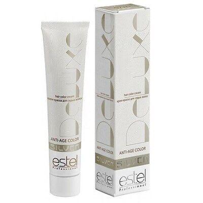 Hair paint DE LUXE SILVER Estel * Cream paint for gray hair - Silver Hair Paint