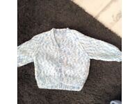 4 baby hand knitted cardigans