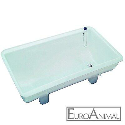 Spülwanne aus Kunststoff 100 Liter - Kunststoffwanne Waschwanne Spülbecken Wanne