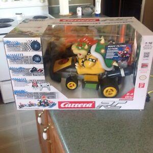 Mario kart 7 bowser remote control car NEW