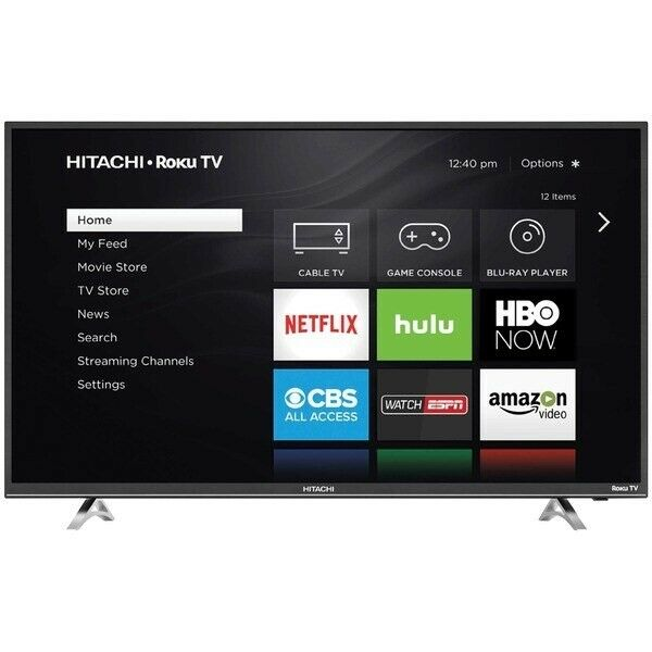 Hitachi 32R20 32 in. 720P LCD Smart HDTV with Roku
