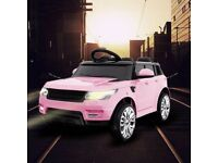Range Rover sport style electric 12v ride on car with parental control PINK(NEW)