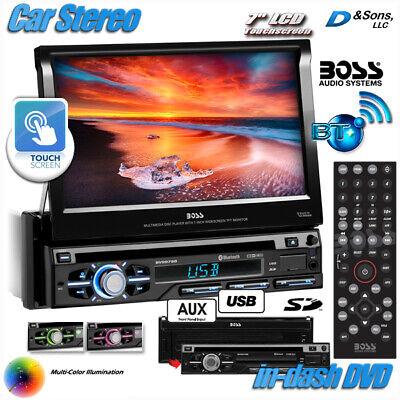 "NEW BOSS Audio 7"" Touchscreen In-Dash DVD/CD/USB Car Stereo Radio w/Bluetooth"