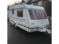 Compass caravan. 1999. 2 berth. With end wash room