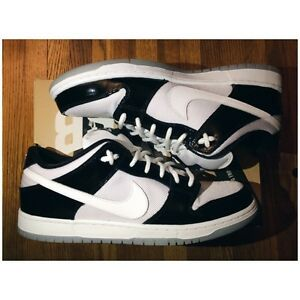 NIKE DUNK SB LOW - CONCORD & CHALLENGE RED SIZE 11