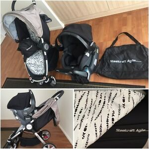 Britax Safe-n-Sound ISOFIX Bamboo Capsule & Steelcraft Stroller + Mudgeeraba Gold Coast South Preview