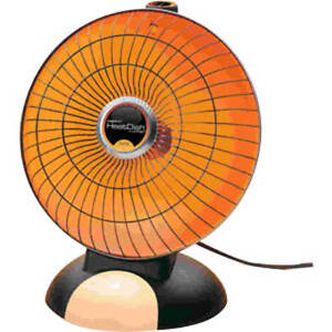 Presto HeatDish Parabolic 1000W Electric Heater