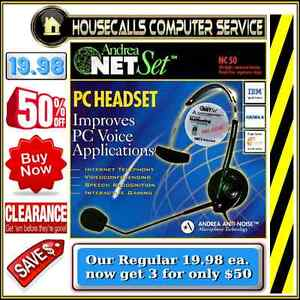 New in box - Noise Cancelling Gaming & Internet Chat Headset