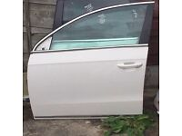 VW Passat NSF (Passenger Side) door**White** 2011 - 2014