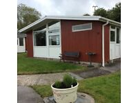 Two bedroom detached freehold holiday chalet, Carmarthenshire