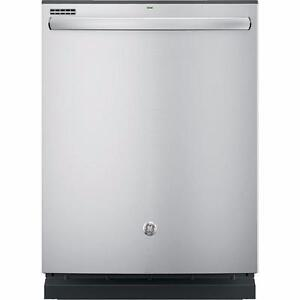 Lave-vaisselle 24'', Broyeur, Stainless, GE Profile