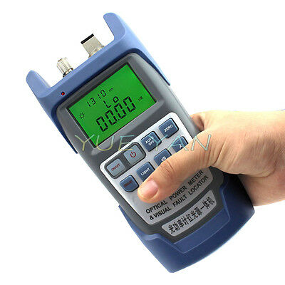 Hot All-in-one Optical Power Fiber Meter 1mw Visual Fault Locator
