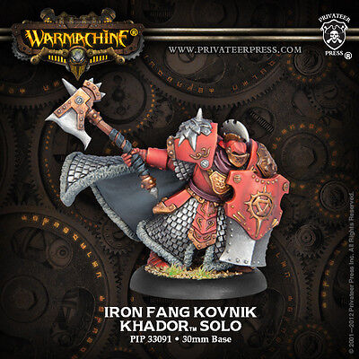 Warmachine: Khador Iron Fang Kovnik Solo PIP 33091
