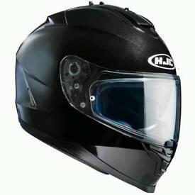 Brand New HJC IS-17 Plain Gloss Black Helmet