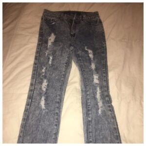 Urban planet high waisted skinny jeans