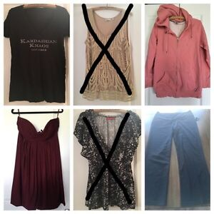 XL Clothes (can be sold individually)
