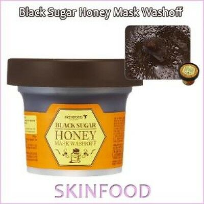 [Skin Food] SkinFood Black Sugar Honey Mask Wash off 100g / Korea Cosmetic /1UL2