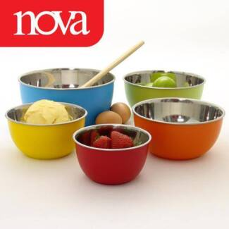 Nova set 5 mixing bowls Mount Druitt Blacktown Area Preview