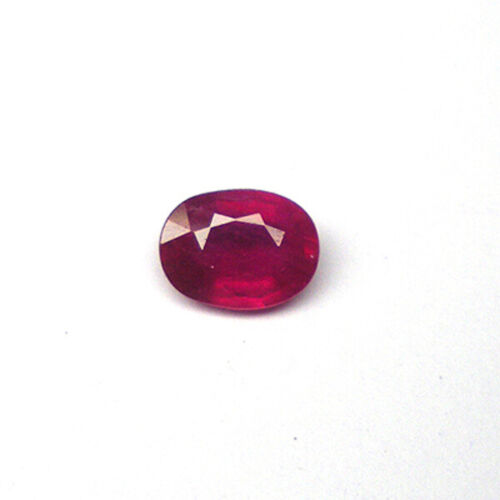 Oval Shape Natural 1.62 CTS OVAL RUBY GEMSTONE