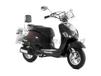*Brand New* 66 plate Lexmoto Valencia 50 cc. Warranty, Free delivery, Part-Ex