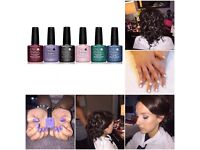 Chrismas Offer* Make up /Hair up /Shellac Nails