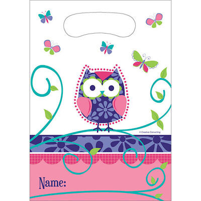 Owl Pal Party Supplies Treat - Owl Treat Bags