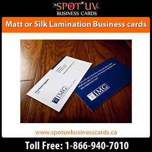 Best Deals On 250 Matte Business Cards $195.00 - Fast Shipping London Ontario image 3