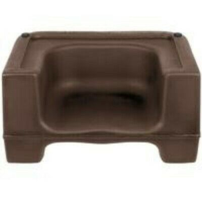 Restaurant Equipment Carlisle Dual Height Booster Seat Brown