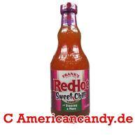 Nuovo: 3 X 354ml Frank's Redhot Sweet Chili Bbq Sauce Usa (16,93€/kg) -  - ebay.it