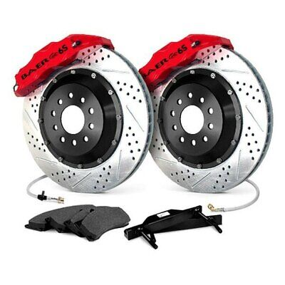For Dodge Viper 92-02 Baer Extreme Plus Drilled & Slotted Rear Brake System