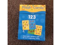 Flash cards. 1-100