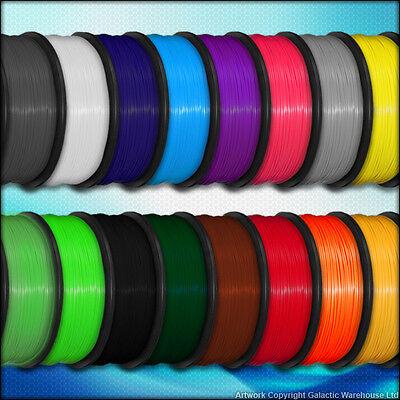 3D Printer Filament PLA 1.75mm Makerbot Reprap Printrbot Metre Sample / 1KG Roll