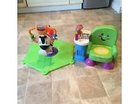 Fisher Price Zebra & Musical Chair