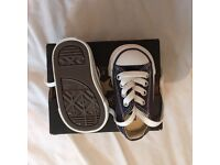 Brand new in the box infant converse size 2 £15