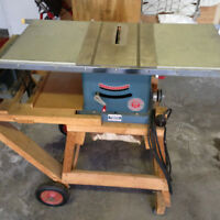 Teco Table Saw and Planer