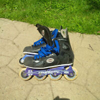 Mission Sz 4 Hockey Roller Blades