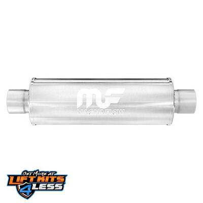 MagnaFlow 10445 2.25 Inlet/Outlet Stainless Steel Muffler for 1994-2001 Integra
