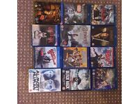 Blue ray Films/DVDs