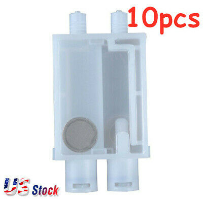Us Stock 10pcs Epson Dx7 Printhead Solvent Damper For 2mm3mm Ink Tube