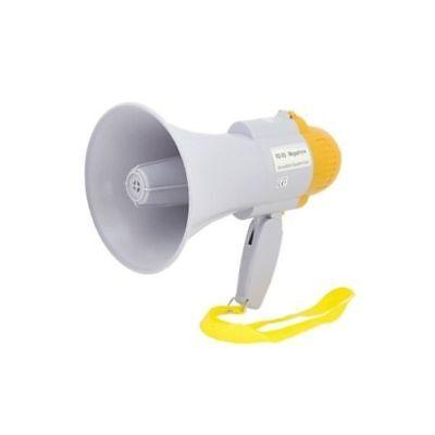 Megáfono Portátil Profesional Capacidad 200MT Grabadora de Voz No Batería