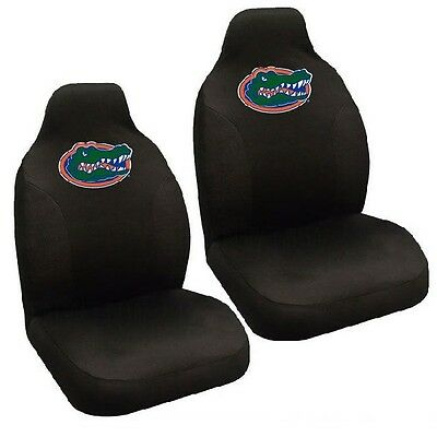 Florida Gators Set of 2 Embroidered Seat Covers Florida Gators Cover